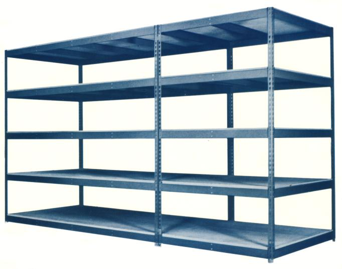 metal widespan shelving example